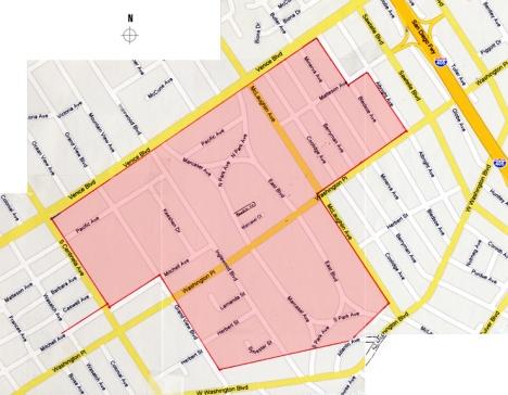 South Mar Vista Neighborhood Boundaries
