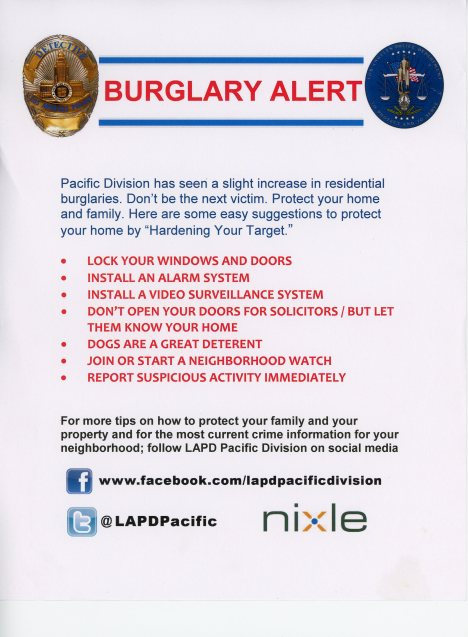 LAPD Burglary Warning001