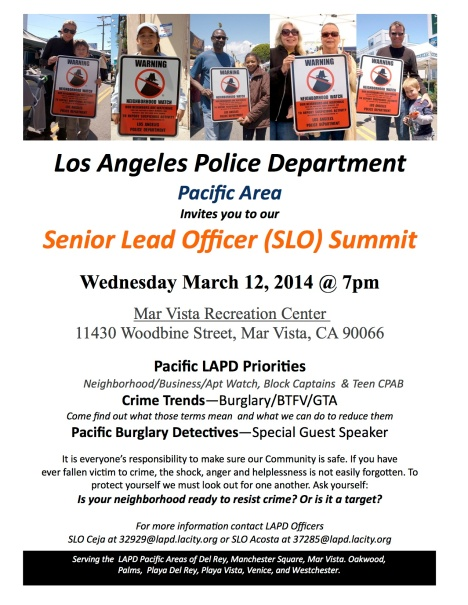 Pacific LAPD SLO Summit Flyer - March 2014 copy