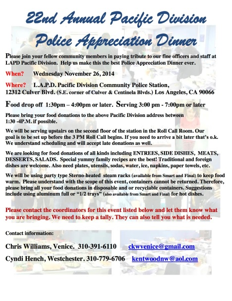 22nd Annual Police Apprec 2014