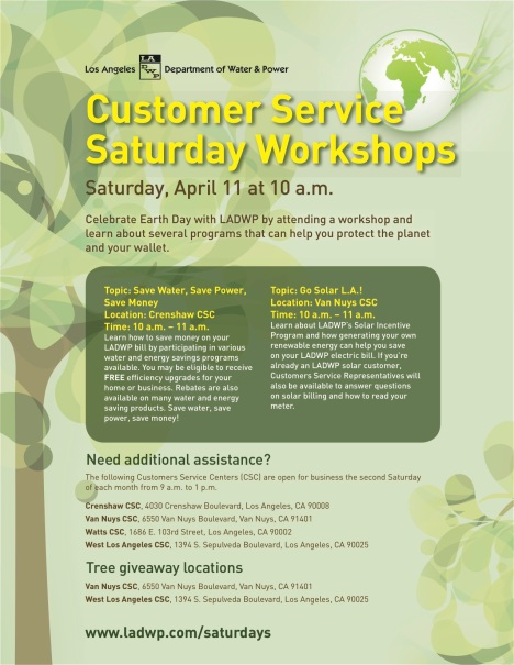 Customer Services Saturdays Earth Day Final copy