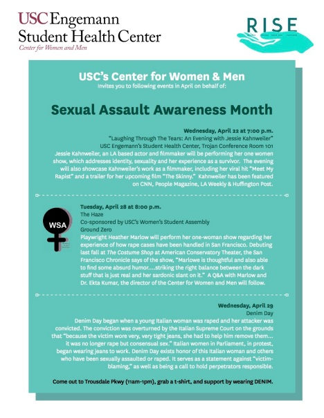 USC SexualAssultAwarnessMonth 2015 copy
