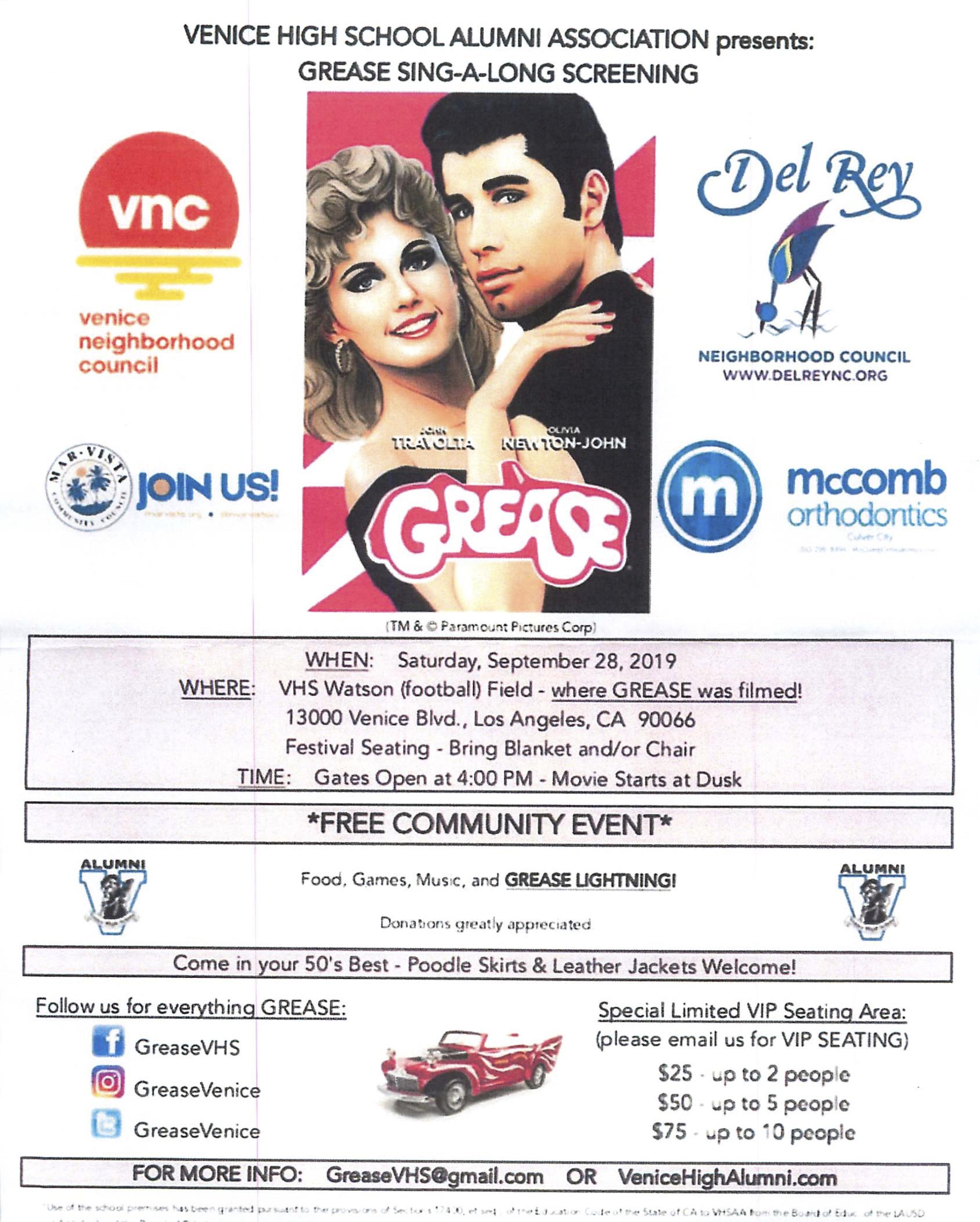 Grease at Venice HS - 9-28-19 copy