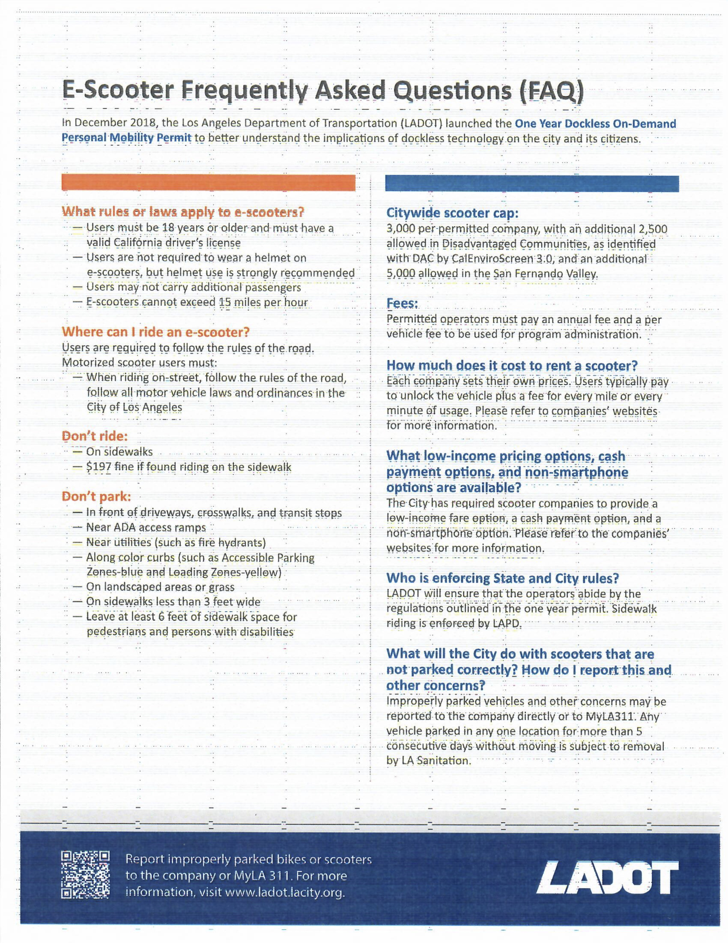 LA City scooter info sheet copy